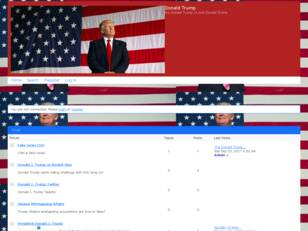 Donald J. Trump Official Forum