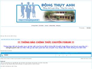 Dong Thuy Anh forums