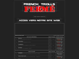 Forum DO NOT FEED THE TROLLS