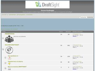 Forum Draftsight