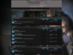 Free forum : Dragon Age