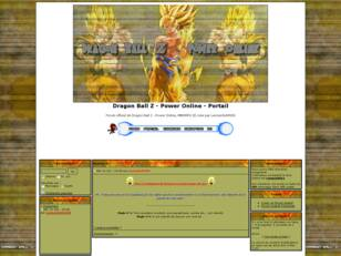 Dragon Ball Z - Power Online