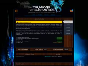 Dragons of Elloran Sea
