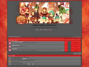 Free forum : ~Dream Theater Guild Forum~