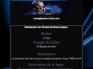 créer un forum : Dream Hockey League
