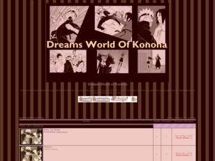 dreams world of Konoha