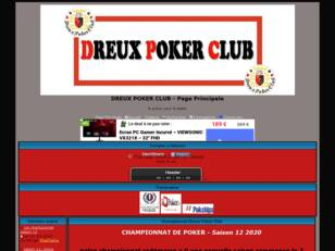 Dreux Poker Club, forum officiel