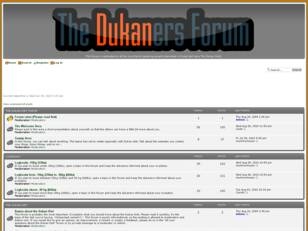 The Dukan Diet in English forum