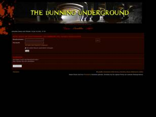 The Underground of Dunning