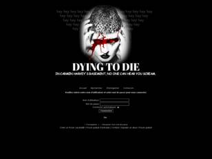 Dying to die