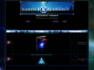 Earth ION Energy™ Research - Forum
