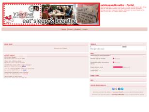 Free forum : eatsleepandbreathe