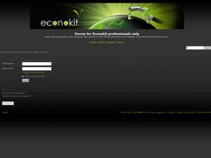 Forum for Econokit distributors only