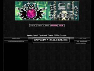 ECTOs Community Forums