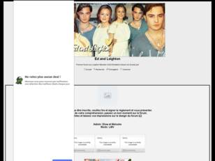 Forum gratuit : Ed and Leighton