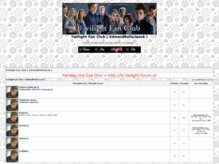 Twilight Fan Club | EdwardBellaJacob |