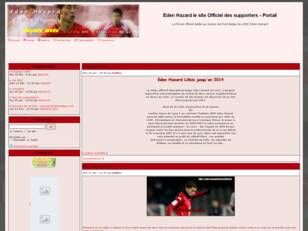 Eden Hazard le site Officiel des supporters