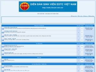 This is forum of EDTC Viet Nam