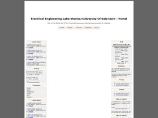 Electrical Engineering Laboratories Web Site