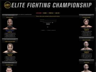 Free forum : Elite Fighting Championship