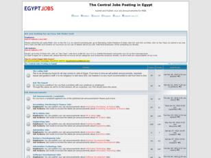 Welcome to Egypt Jobs Forum