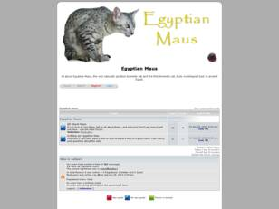 Egyptian Mau Forum - for Mau owners, breeders, and admirers