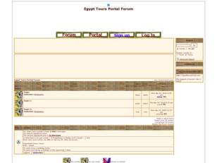 Egypt Tours Portal Forum