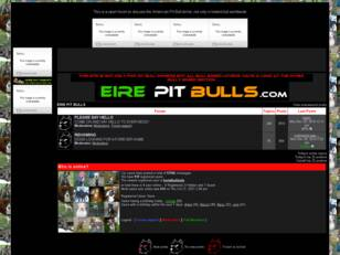 Irelands pit bull forum