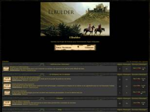 Forum du Module Elbulder pour Neverwinter Nights