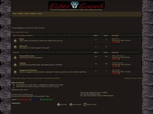 Elderguard Official Forum