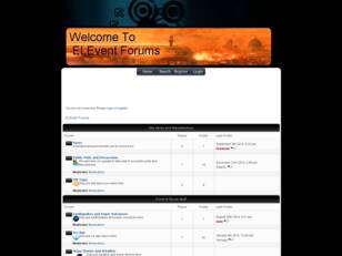ELEVent Forums