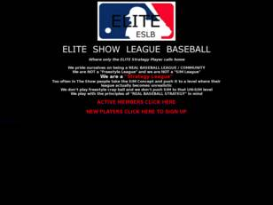 Elite Show League Baseball
