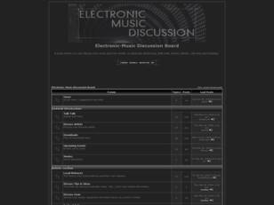 Electronic-Music Discussion Board