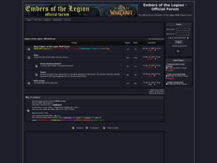 Embers of the Legion - Official Forum