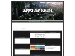 Endure and Survive RPG