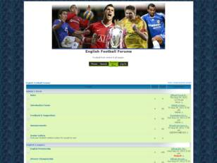 English Football Forums