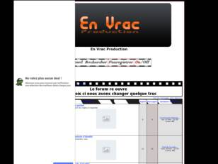 En Vrac production