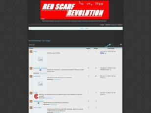 Free forum : Red Scarf Revolution - For a change