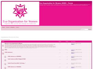Free forum : Eva Organization for Women