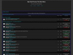 Free forum : Epic Duel Forums-The New Wave