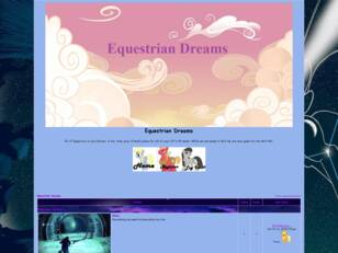 Free forum : Equestrian Dreams
