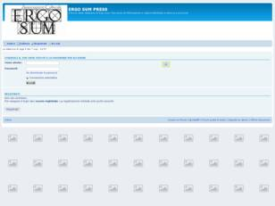 Forum gratis : ERGO SUM PRESS