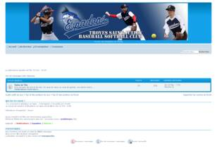 Forum de Troyes Espadons Baseball Softball Club
