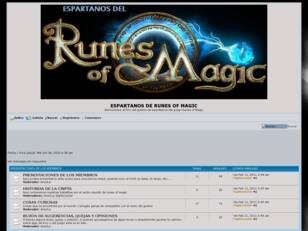 ESPARTANOS DE RUNES OF MAGIC