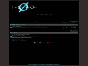 The Eternity Clan Forum