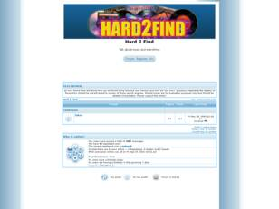 Free forum : Hard 2 Find