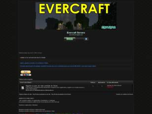 EverCraft Servers Fórum
