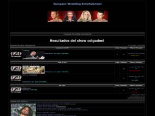 Foro gratis : European Wrestling Entertainment