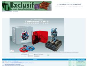 EXCLUSIF - LE FORUM DES COLLECTIONNEURS