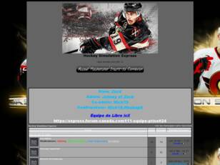 Hockey Simulation Express